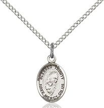 Bliss Small Sterling Silver Blessed Trinity Med... - $42.50