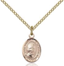 Bliss Small Gold Filled St. Hannibal Medal Pendant Necklace For Children - $62.00
