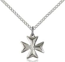 Women's Bliss Small Sterling Silver Maltese Cross 5992SS-CV/18SS 5992SS-CV/18SS - $44.00