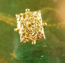 Vintage Gold Nugget Tie Tack Miners Prospectors Stocking Stuffer Gift - $65.00
