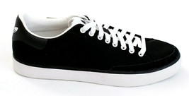 Adidas Rod Laver Vulc Lo Black Lace Up Sneakers Shoes Men's NEW - $74.99