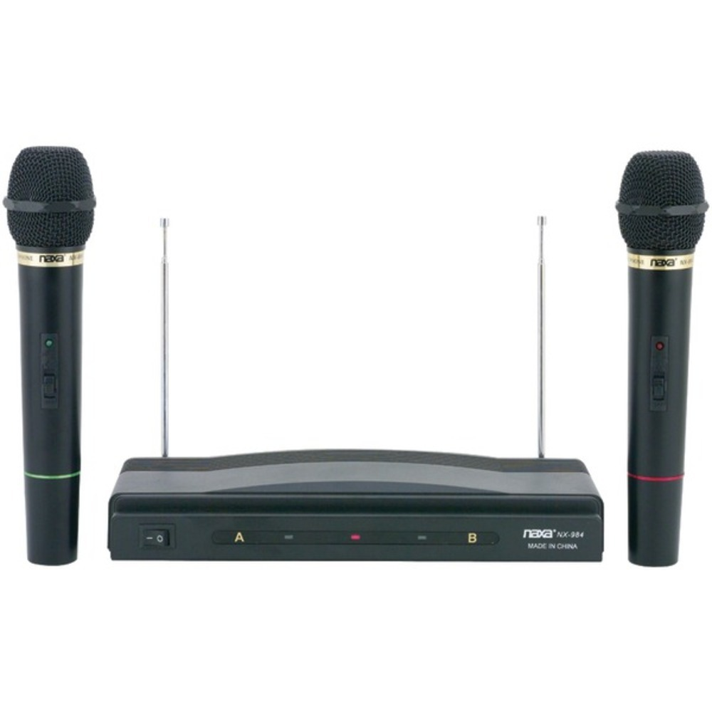 Primary image for Naxa NAM-984 Professional Dual Wireless Microphone Kit