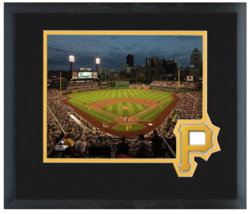 PNC Park Home of the Pittsburgh Pirates - 11 x 14 Matted/Framed Photo  - $43.55