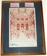 FRANCE 1982 OPERA NATIONAL DE PARIS POSTER TICKET STUBS - $191.64