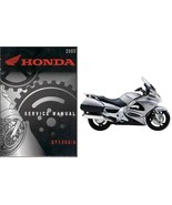 2002-2013 Honda ST1300 Service Repair Workshop Manual on a CD -- ST 1300 - $12.00