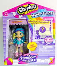 Shopkins Happy Places Rainbow Beach Lil' Shoppie Faith Feathers doll - $10.95