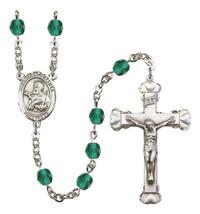 Women's St Francis Xavier Rosary Beads Birthstone December R6001ZCS-8037 - $74.55