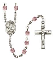 Women's St Francis Xavier Rosary Beads Birthstone June R6000LAMS-8037 - $74.55