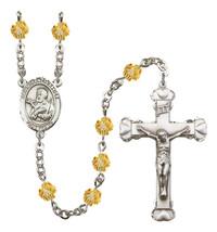 Women's St Francis Xavier Rosary Beads Birthstone November R6001TPS-8037 - $74.55