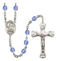 Women's St Francis Xavier Rosary Beads Birthstone September R6001SAS-8037 - $74.55