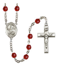 Women's St Francis Xavier Rosary Beads Birthstone July R6000RBS-8037 - $74.55