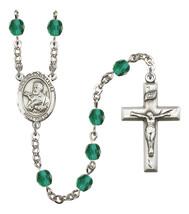 Women's St Francis Xavier Rosary Beads Birthstone December R6000ZCS-8037 - $74.55