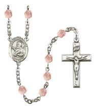 Women's St Francis Xavier Rosary Beads Birthstone October R6000PKS-8037 - $74.55
