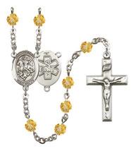 Women's St George Rosary Beads Birthstone November R6000TPS-8040S10 - $74.55
