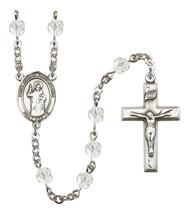 Women's St John Of Capistrano Rosary Beads Birthstone April R6000CS-8350 - $74.55