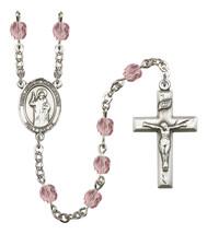 Women's St John Of Capistrano Rosary Beads Birthstone June R6000LAMS-8350 - $74.55