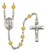 Women's St John The Apostle Rosary Beads Birthstone November R6000TPS-8056 - $74.55