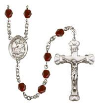 Women's St John Licci Rosary Beads Birthstone January R6001GTS-8358 - $74.55