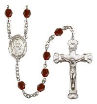 Women's St John Chrysostom Rosary Beads Birthstone January R6001GTS-8357 - $74.55