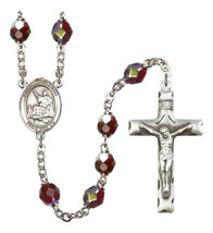Women's St John Licci Rosary Beads Silver Plated R6008GTS-8358 - $74.55