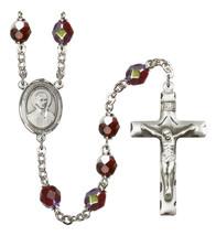 Women's St John Berchmans Rosary Beads Silver Plated R6008GTS-8370 - $74.55