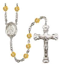 Women's St John Chrysostom Rosary Beads Birthstone November R6001TPS-8357 - $74.55