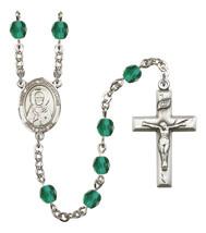 Women's St John Chrysostom Rosary Beads Birthstone December R6000ZCS-8357 - $74.55