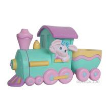 1993 Hallmark Easter Eggspress Bunny Train Collectible Vintage Figurine - $3.95