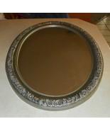 Oval Silver Composite Frame Mirror  (MR51) - $149.00