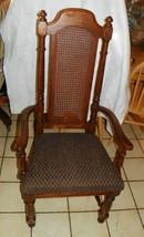 Dark Oak Armchair / Desk Chair by Thomasville  (AC138) - $349.00
