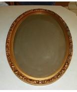 Oval Gold Composite Frame Mirror  (MR52) - $149.00
