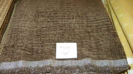 Brown Crinkle Velvet Fabric/Upholstery Fabric 1 Yard  F1334 - $39.95