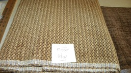 Brown Gold Tweed Fabric/Upholstery Fabric 1 Yard  F1335 - $748,80 MXN