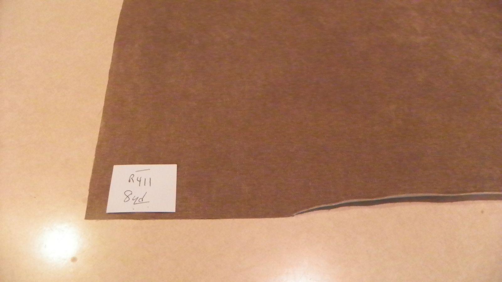 Beige Nylon Velvet Upholstery Fabric 1 Yard  R411