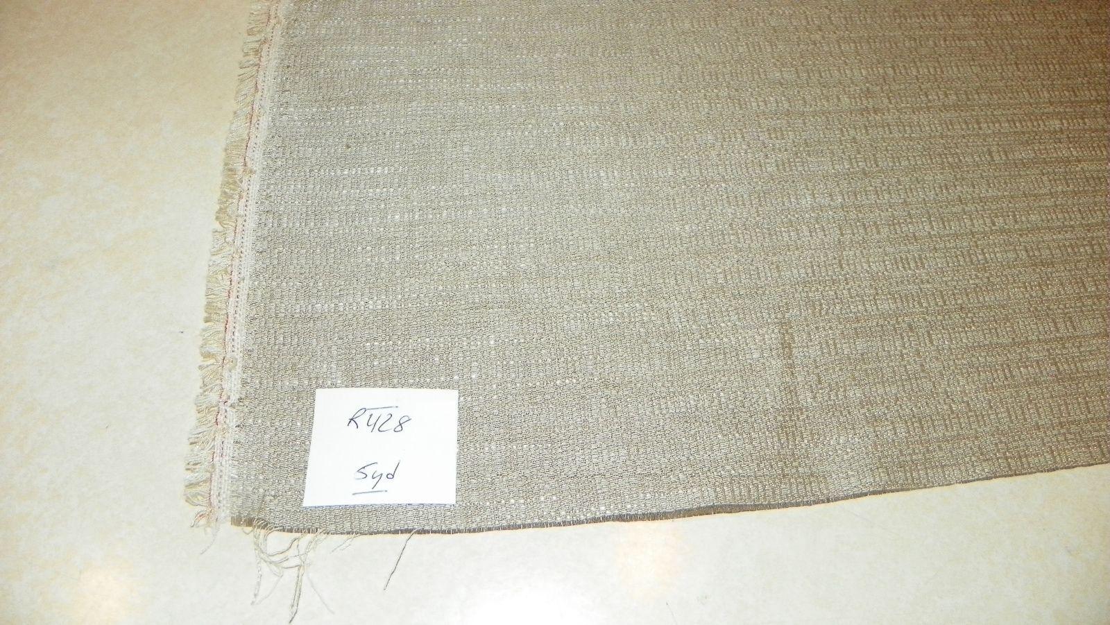 Beige Nylon Upholstery Fabric 1 Yard  R428