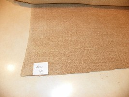 Cream Beige Chenille Upholstery Fabric 1 Yard  R422 - $29.95