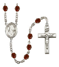 Women's Our Lady Star Of The Sea Rosary Beads Birthstone January R6000GTS-8101 - $74.55