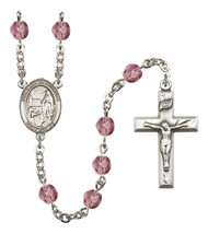 Women's Our Lady Of Lourdes Rosary Beads Birthstone Febuary R6000AMS-8288 - $74.55