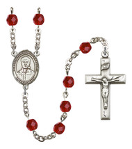 Women's Blessed Pier Giorgio Frassati Rosary Beads Birthstone July R6000... - $74.55
