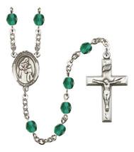 Women's Blessed Caroline Gerhardinger Rosary Beads Birthstone  R6000ZCS-... - $74.55