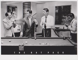 Rat Pack Pool Sinatra Martin Bishop Davis Lawford M Vintage 8X10 BW Movie Photo - $6.99