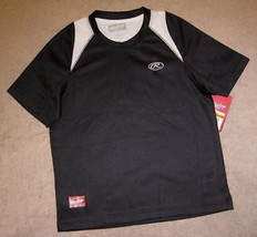 BOYS LARGE -  Rawlings - Black & White SPORTS JERSEY - $8.57