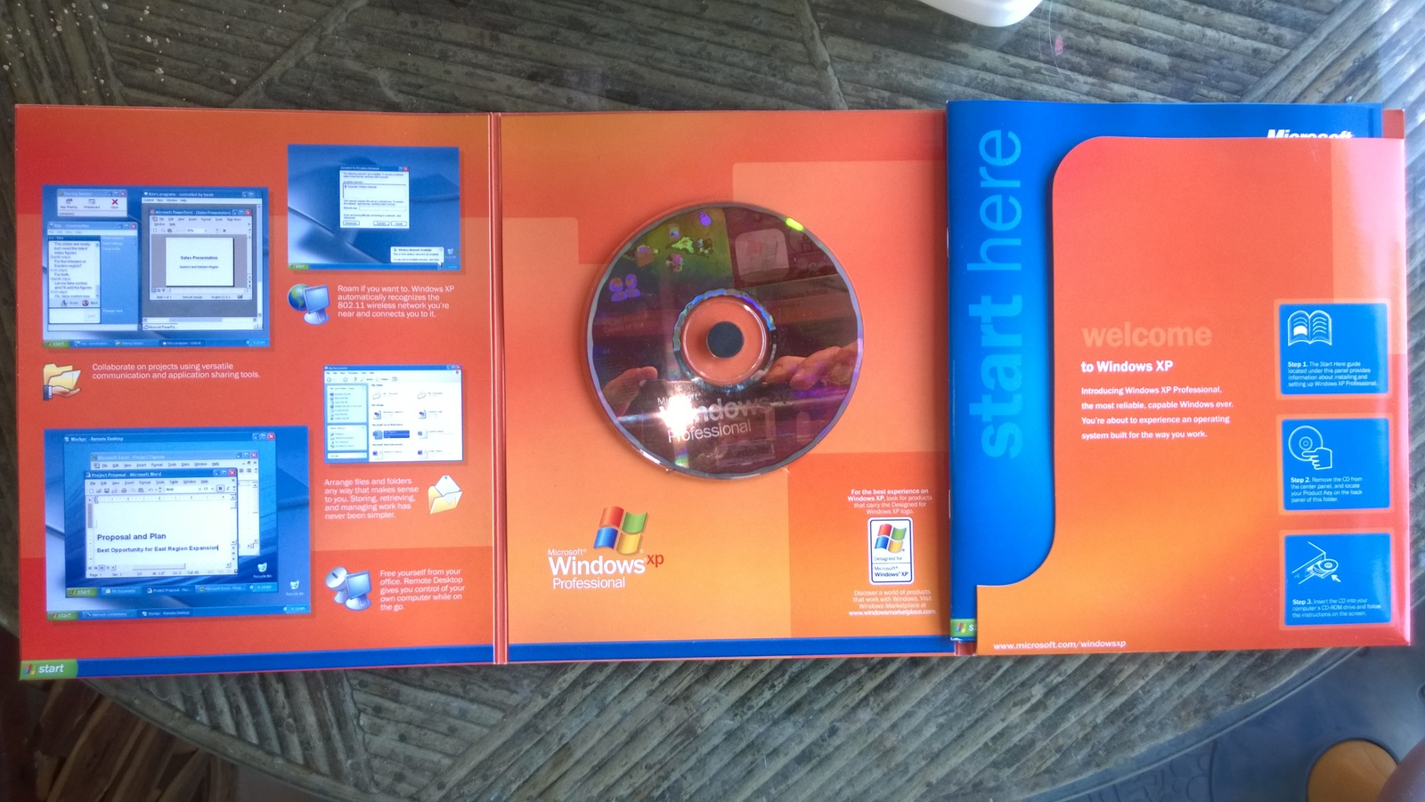 Microsoft Windows XP Professional with Service Pack 2 X10 ...