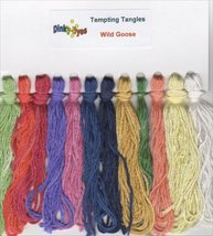 SILK FLOSS PACK for Wild Goose cross stitch chart Dinky Dyes - $17.10