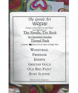 WOOL FLOSS BUNDLE for Thy Needle and Thy Thread cross stitch Cherished S... - $22.50