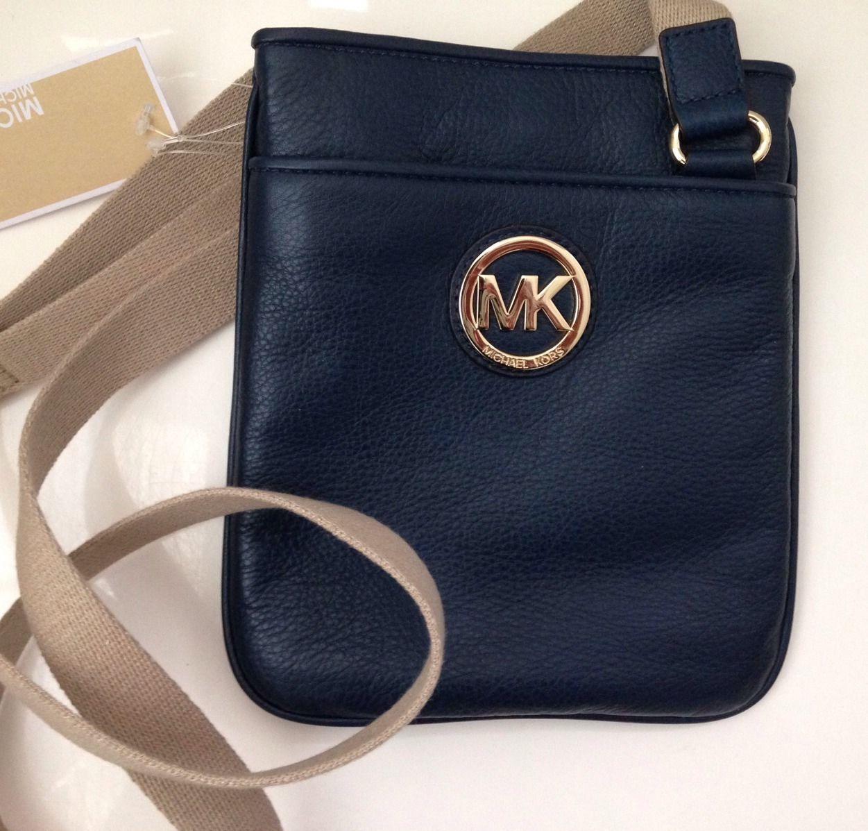 45030c1e61b3 Michael Kors Fulton Crossbody Leather Bag and 50 similar items. 57