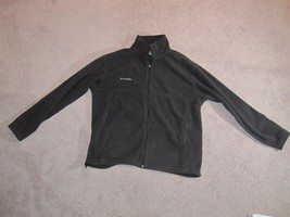 Men's Columbia Fleece Jacket Black Size: L - $30.84