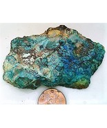 Chrysocolla 6 Gemstone Slab Cabbing Rough - $4.60