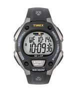 Timex Ironman Triathlon 30 Lap - Black/Silver  (T5E901) - $48.00