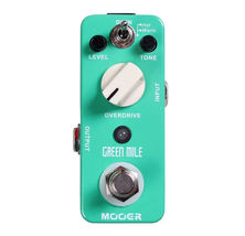 Mooer Green Mile Overdrive Micro Guitar Effects Pedal - $59.80